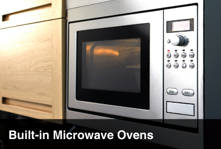 Kitchen Appliances Built-In Microwave Ovens