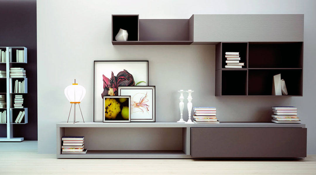 Contemporary TV Wall  Cabinet
