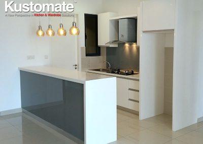 U Shape Modern Kitchen Design