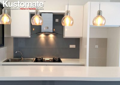 U Shape Modern Kitchen Design