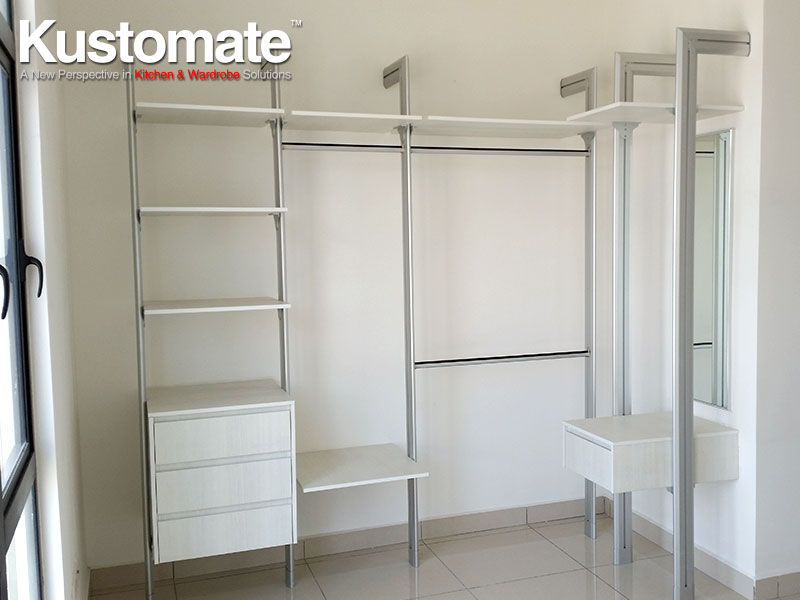 Modern Cabinets Design & Build For Condominium | KUSTOMATE ...