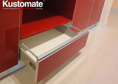 Soft Close System Cabinet