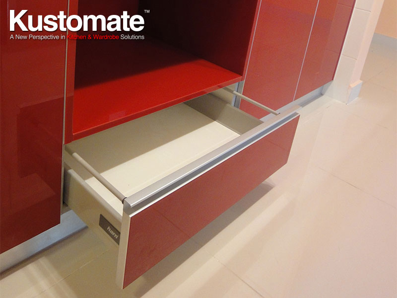 Soft Close System Cabinet | KUSTOMATE CABINETRY • KITCHEN ...