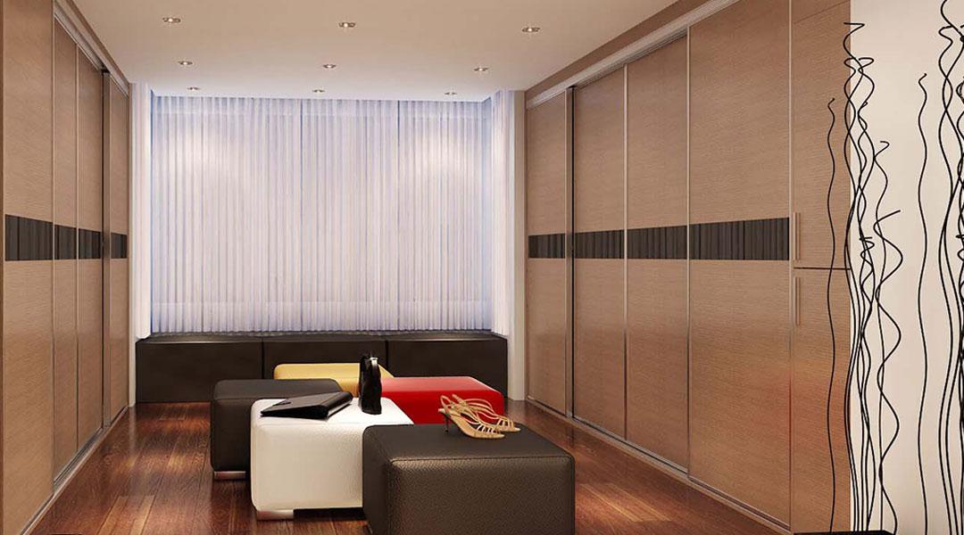Sliding Wardrobe Cabinet Design 02