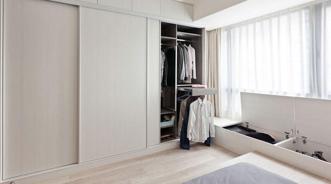 Sliding Wardrobe Cabinet Design 08