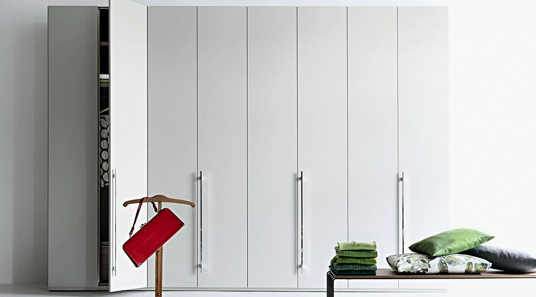 Swing Doors Wardrobe Cabinet Design 02