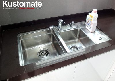 Quartz Surface Countertops For Wet Kitchen Sink