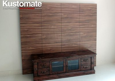 Melamine Living Room TV Wall