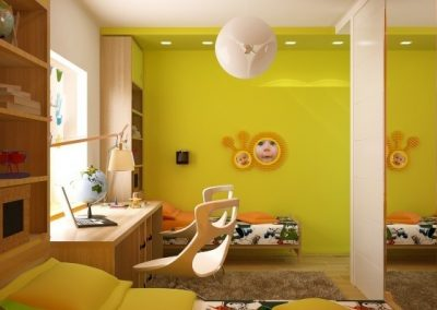 12 Types Awesome Children Room Design Ideas 01