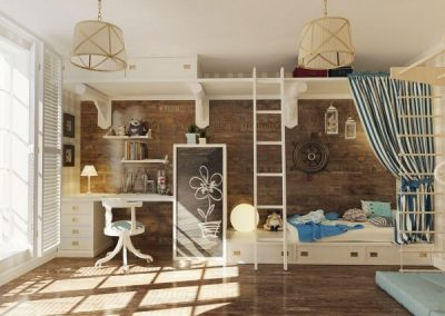 12 Types Awesome Children Room Design Ideas 02