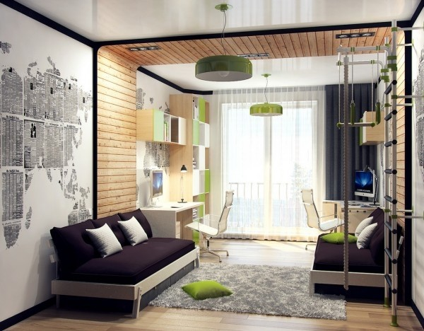 12 Types Awesome Children Room Design Ideas