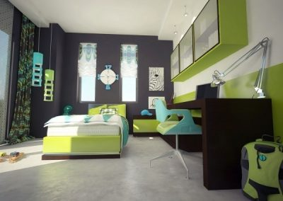 12 Types Awesome Children Room Design Ideas 09