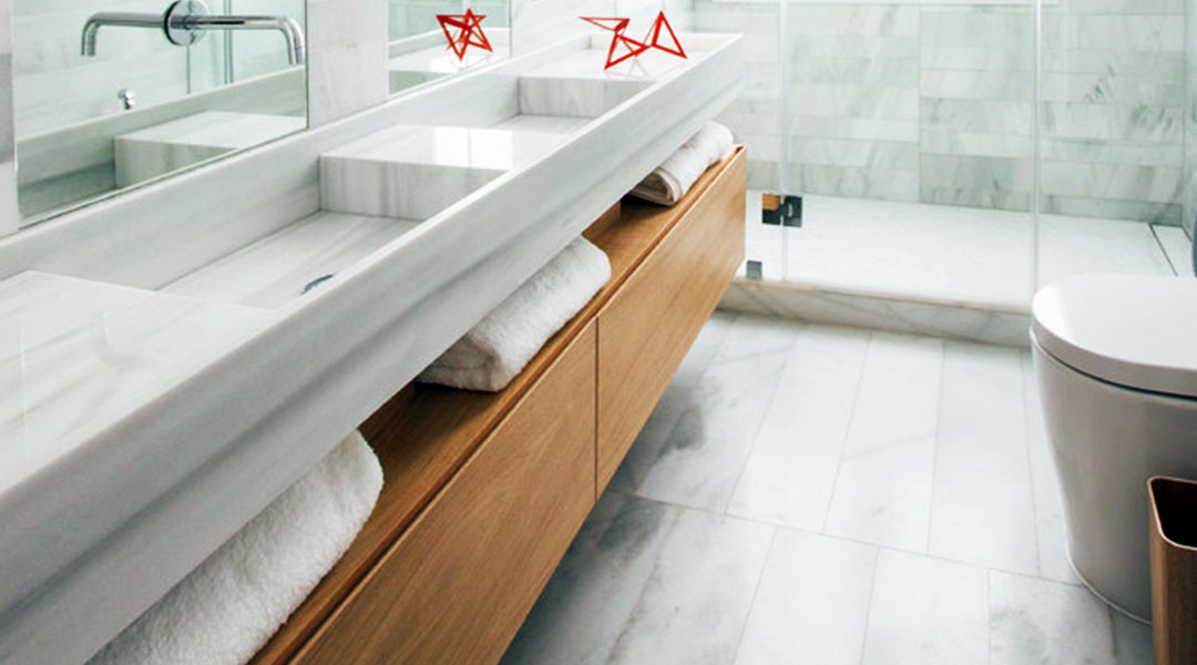 Granite Basin Bathroom Cabinet
