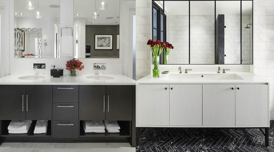 Melamine Bathroom Cabinet Design