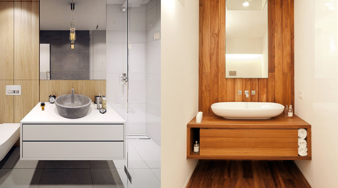 Stand Alone Basin Bathroom Cabinet