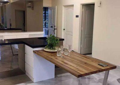 Custom Shape Island Kitchen Cabinetry Design 02