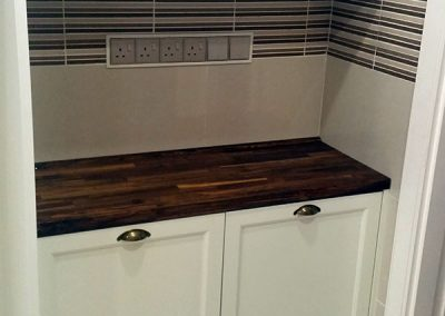 Solid Wood Classic Kitchen Cabinet Design 06