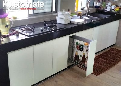Contemporary Minimalist Gloss Kitchen Cabinet Design & Build For Residential House 05