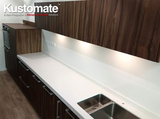 Contemporary Kitchen Cabinet Design & Build For Kuala Lumpur Apartment Residential House