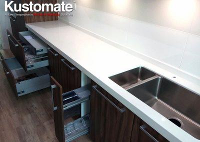 Kuala Lumpur Apartment House Kitchen Cabinet Design Build 02