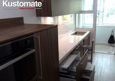Kuala Lumpur Apartment House Kitchen Cabinet Design Build 04