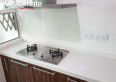 Kuala Lumpur Apartment House Kitchen Cabinet Design Build 06